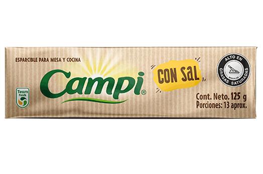 Margarina esparcible en barra con sal Campi®