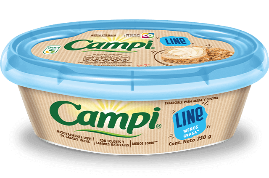Margarina esparcible Campi® Line