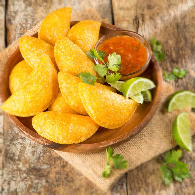 La historia y la tradición que demuestran las empanadas colombianas