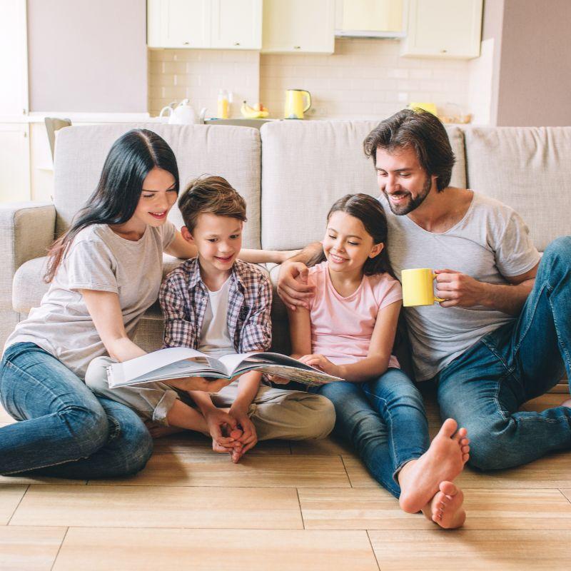 Compartir en familia: beneficios y recomendaciones