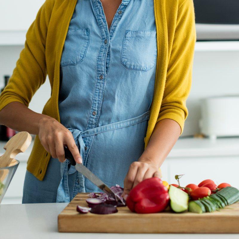 Refrigerio dulce con verduras: ideal para recargar energía