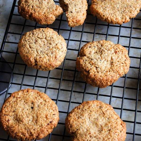 Comida saludable para niños: galletas de avena.